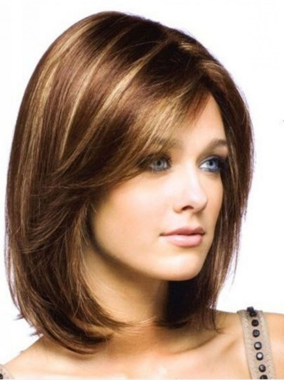 Recent Sassy Medium Haircuts For Thick Hair Pertaining To Hair Cuts : Astonishing Shoulder Length Haircuts For Women Sassy (View 14 of 20)