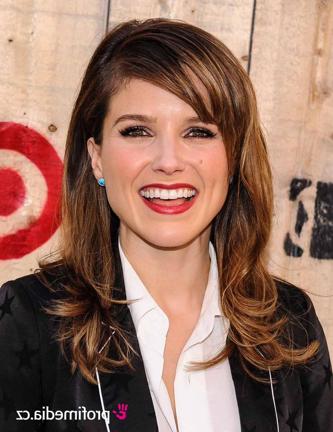 Recent Sophia Bush Medium Hairstyles Inside Sophia Bush – – Hairstyle – Easyhairstyler (View 11 of 20)