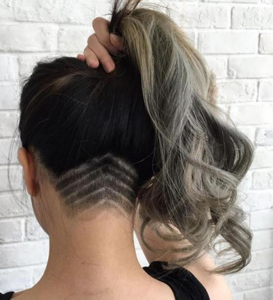 Recent Undercut Medium Hairstyles For Women In 40 New Undercut Hairstyles For Women – Long, Medium Or Short Hair (View 17 of 20)