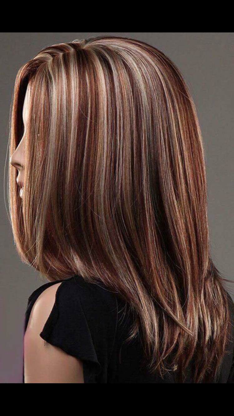 Red Highlights #stepcuthairstylesforwomen (Gallery 9 of 20)