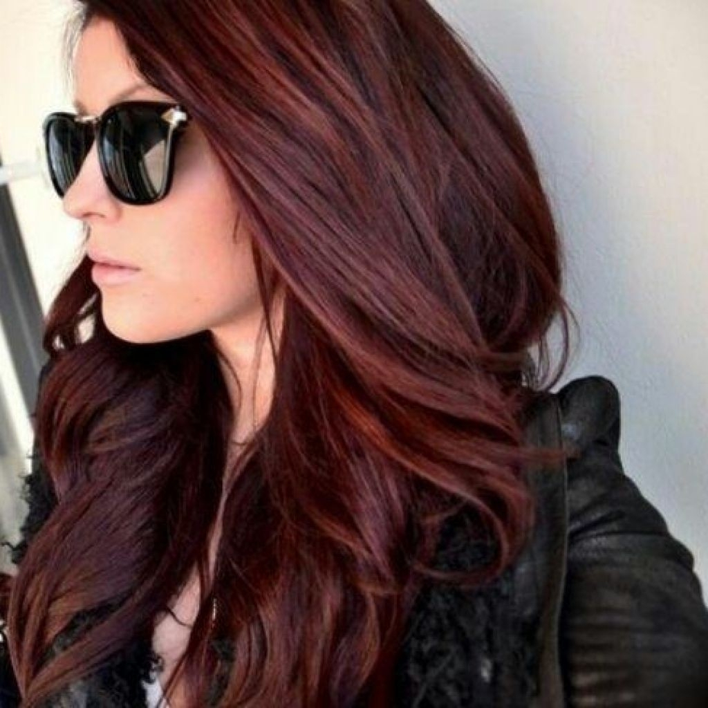 Red Medium Hairstyles – Hairstyle For Women & Man With Recent Medium Haircuts With Red Hair (Gallery 9 of 20)