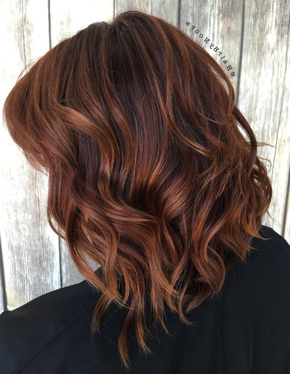 Red Regarding Popular Medium Hairstyles With Red Highlights (View 20 of 20)