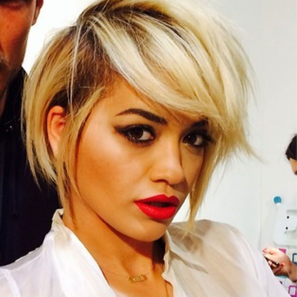 Rita Ora Gets An Edgy New Haircut (Gallery 2 of 20)