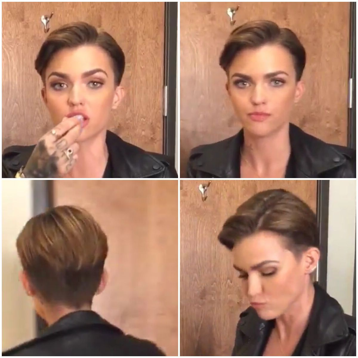 Ruby Rose Hair … (Gallery 3 of 20)