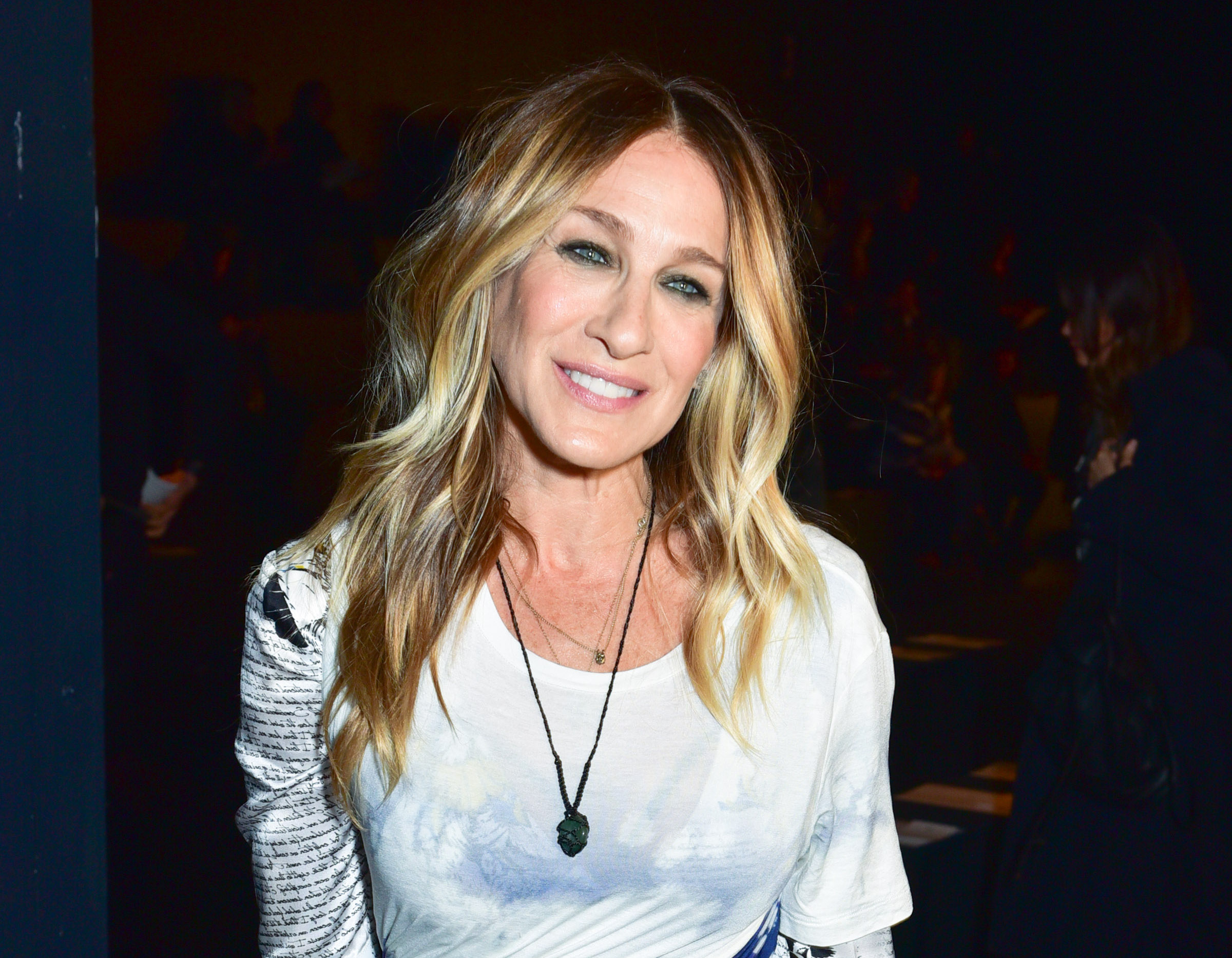 Sarah Jessica Parker Just Got Bangs, And It's A Chic New Hairstyle With 2017 Sarah Jessica Parker Medium Hairstyles (Gallery 19 of 20)