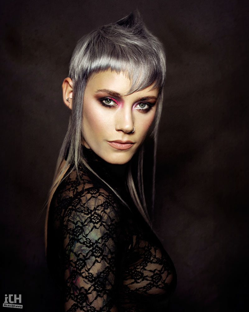 See Some Of Our Latest Hairstyles For Pixie Crop Hair. For Fashionable Asymmetrical Pixie Faux Hawk Hairstyles (Gallery 9 of 20)