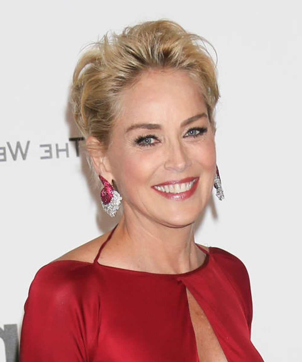 Sharon Stone Short Hairstyles Over 50 For 2018 2019 – Hairstyles Intended For Preferred Sharon Stone Medium Haircuts (View 19 of 20)