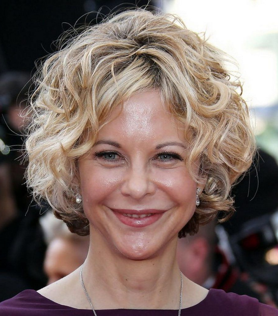 Short Curly Haircuts For Older Women (Gallery 1 of 20)