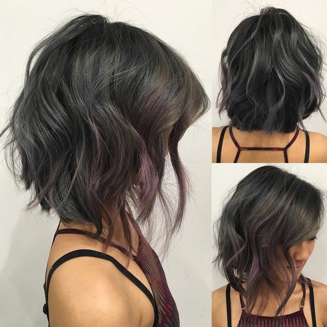 Short Hair Inside 2017 Choppy Medium Hairstyles For Thick Hair (View 20 of 20)
