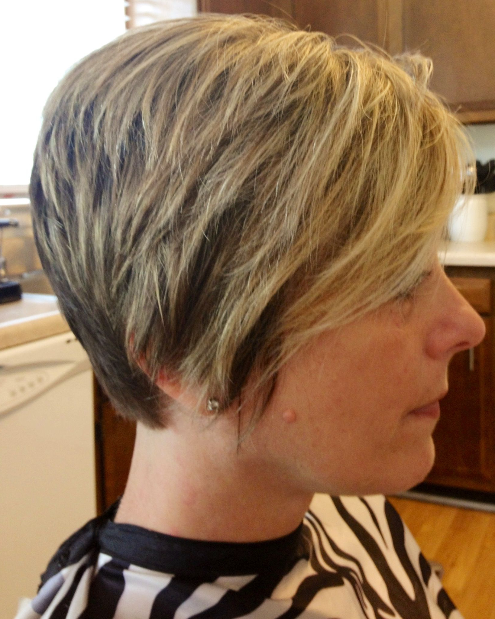 Short Hairstyle With Ears Covered (View 4 of 20)