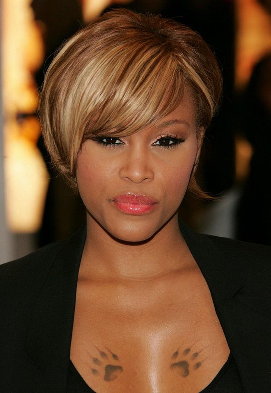 Short Hairstyles African American For Weddings — Classic Style : The For Trendy Medium Hairstyles For African American Women With Thin Hair (Gallery 15 of 20)