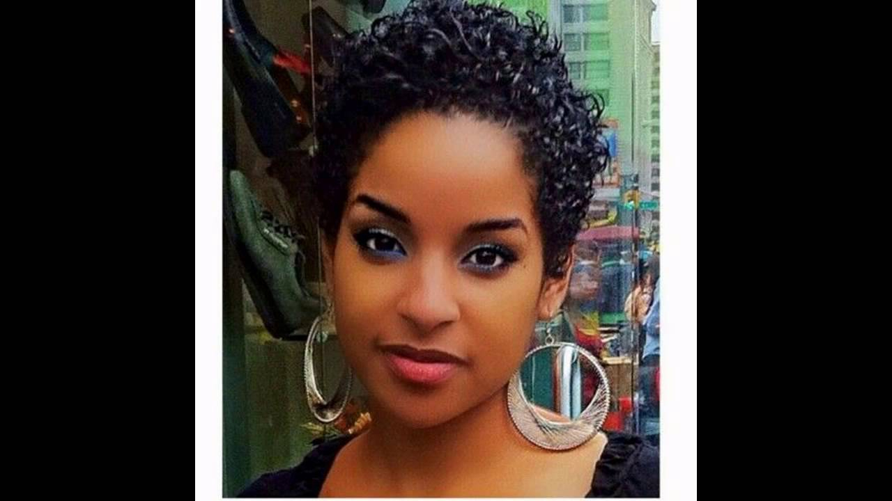 Short Hairstyles Black Hair – Youtube Throughout Popular Very Medium Haircuts For Black Women (Gallery 11 of 20)