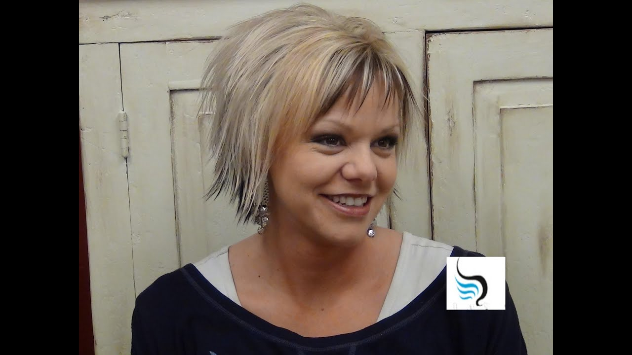 Short Hairstyles) With Slight Flip Hair – Youtube With Regard To Fashionable Flipped Medium Hairstyles (View 16 of 20)