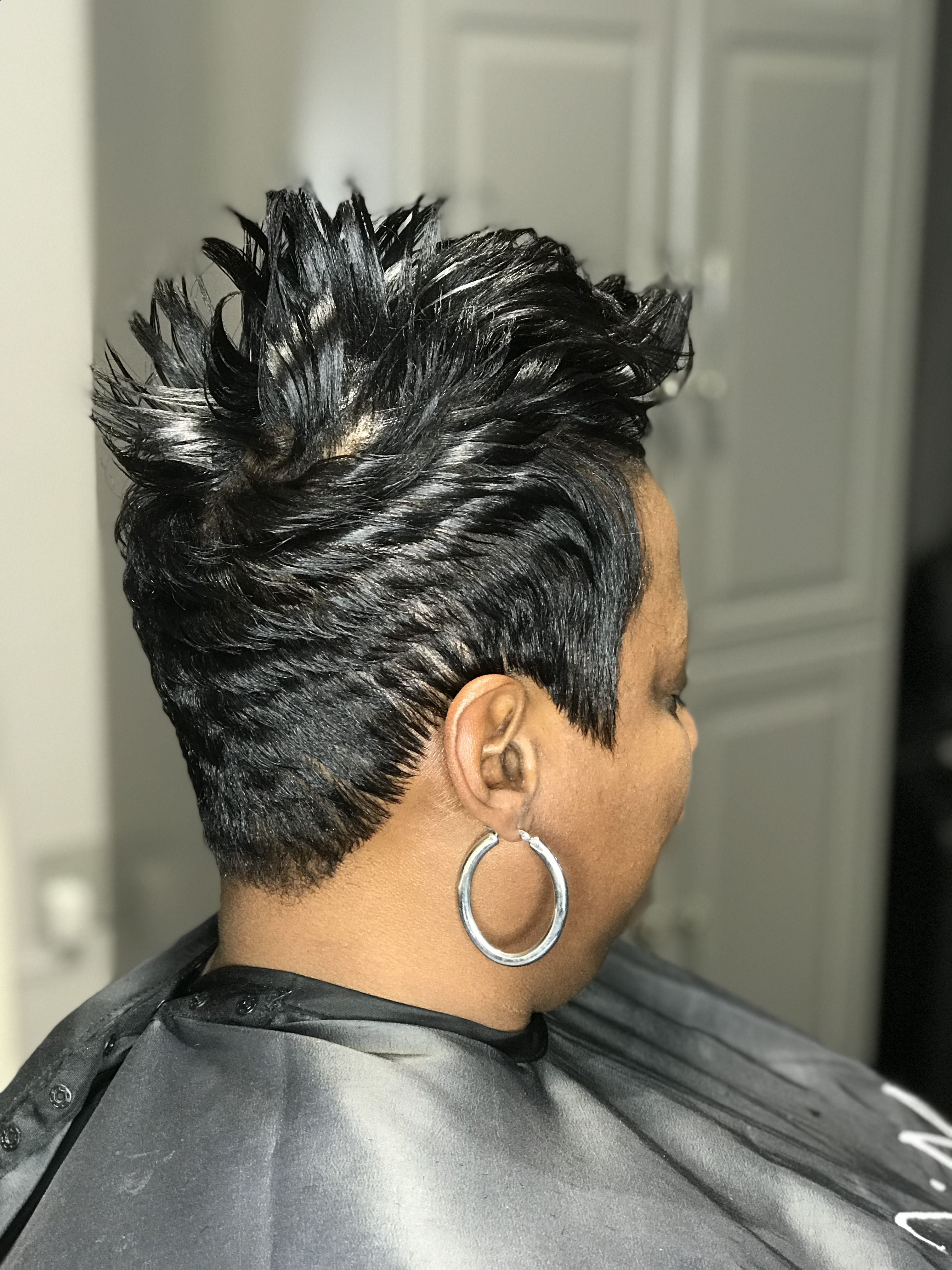 Short Spike Pixie Stylist: Dee @mishawn_Salon (Gallery 9 of 20)