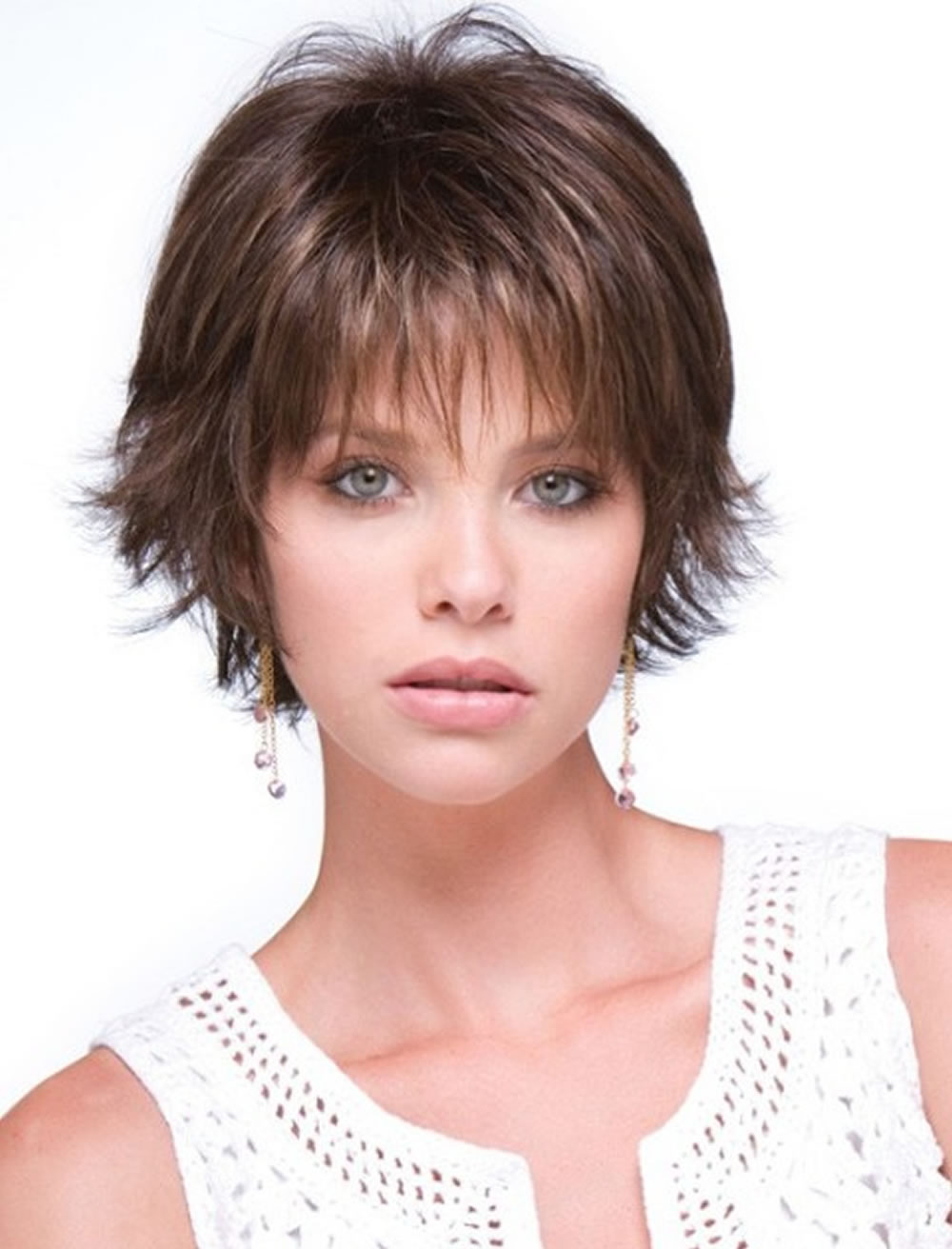 Short To Medium Hairstyles For Fine Hair (View 19 of 20)