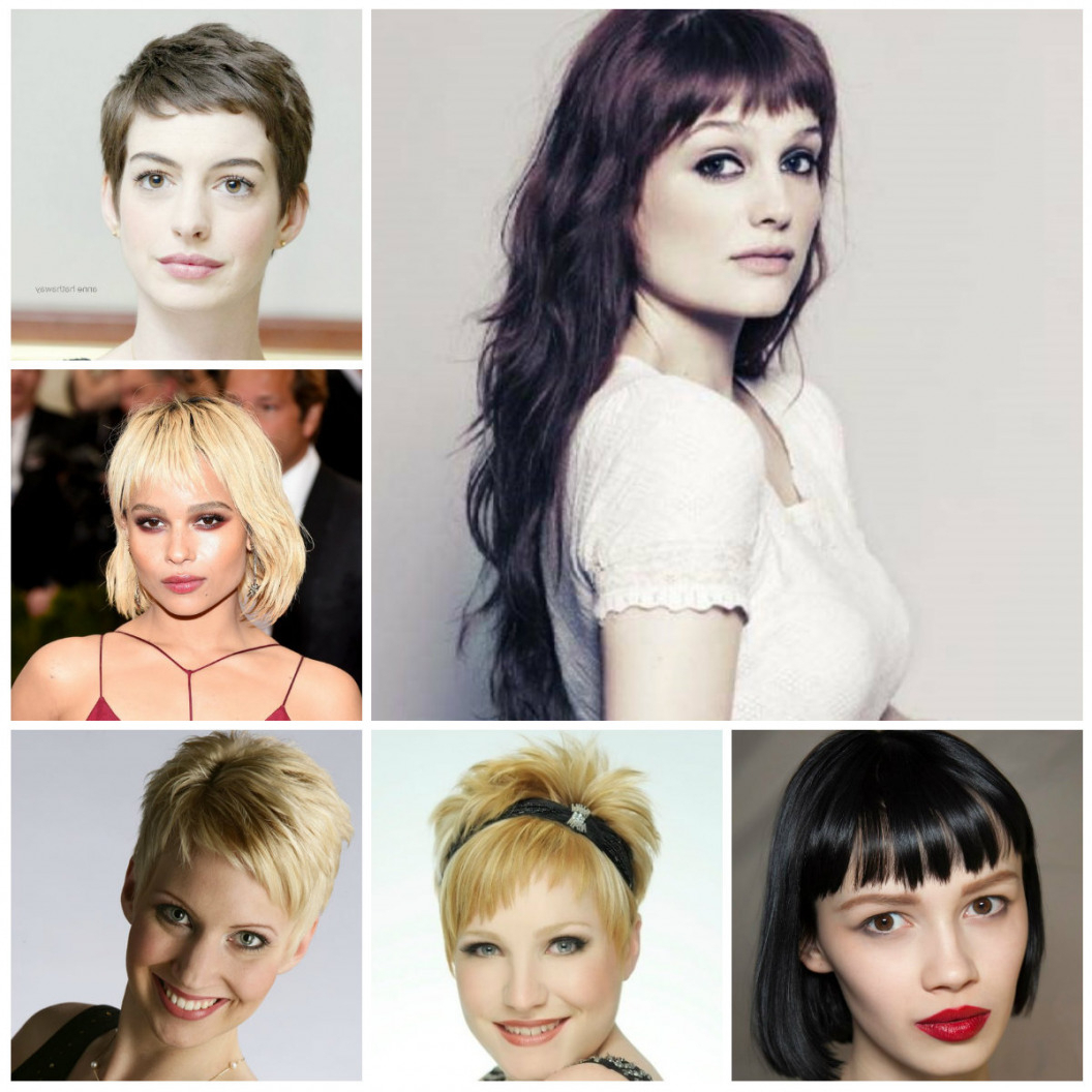 Short To Medium Hairstyles With Bangs 2015 (Gallery 15 of 20)