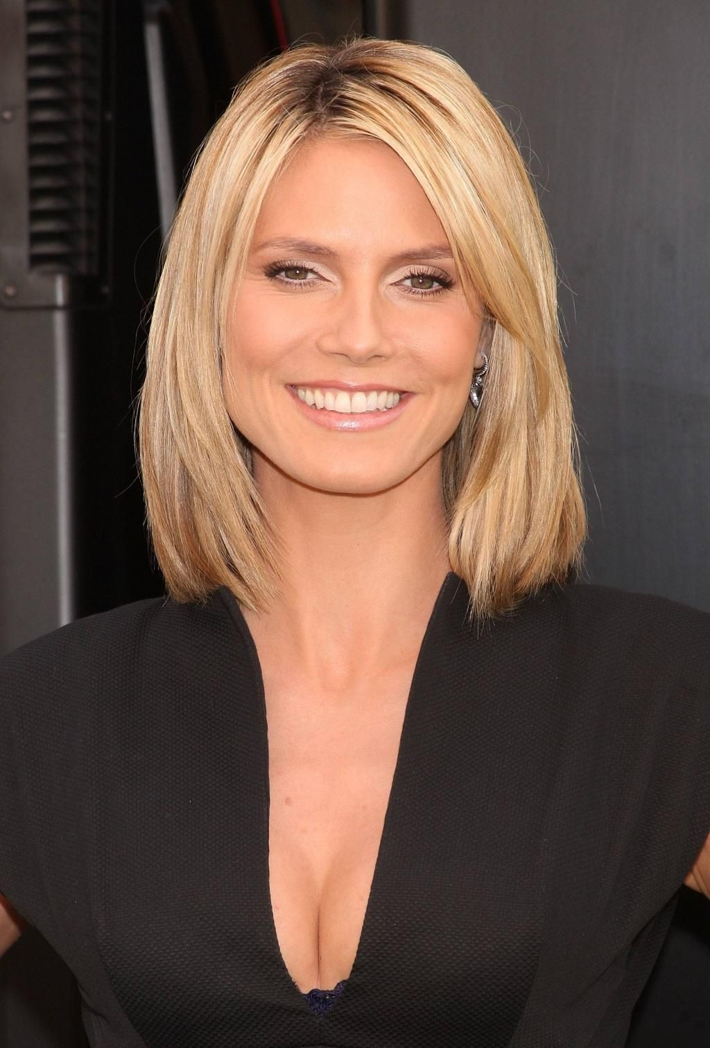 Shoulder Length Bob – Heidi Klum (View 2 of 20)