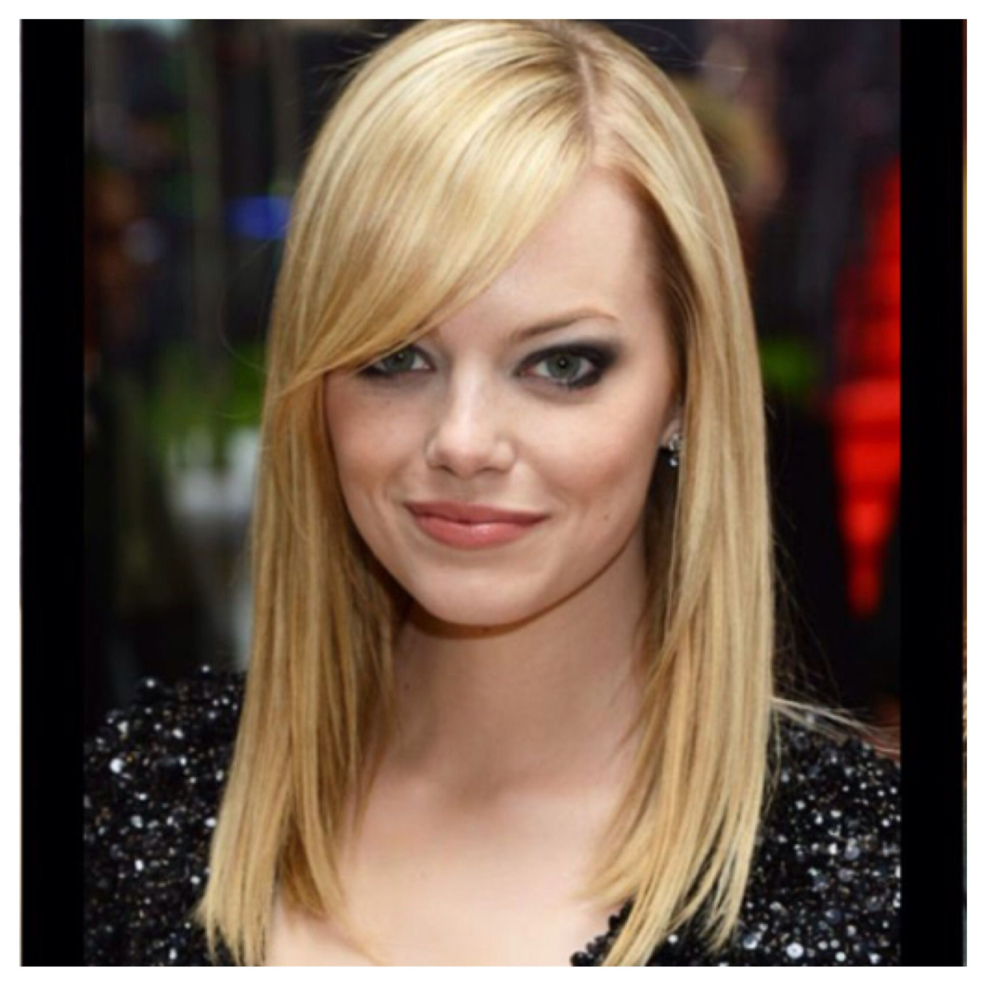 Side Bangs, Fringes And Make Up Ideas In Widely Used Side Bangs Medium Hairstyles (View 12 of 20)