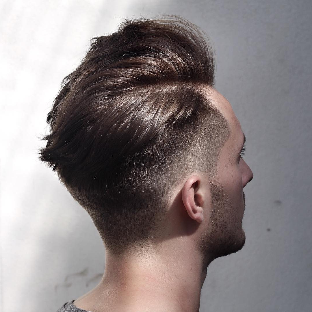 Side Part Hairstyles For Men Inside 2017 One Sided Medium Hairstyles (View 17 of 20)