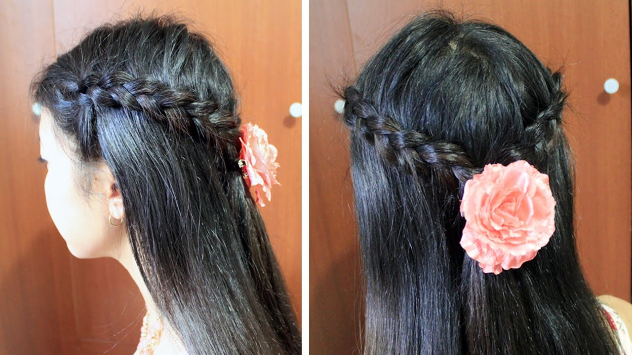 Spring Dutch Braid Hairstyle For Short Medium Long Hair Tutorial Regarding Latest Medium Hairstyles For Spring (Gallery 17 of 20)
