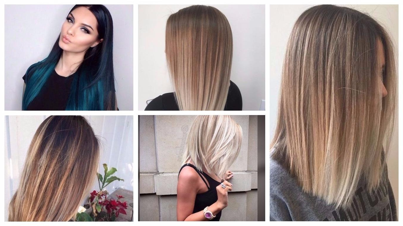 Straight Hairstyles For Women 2018 (Gallery 16 of 20)