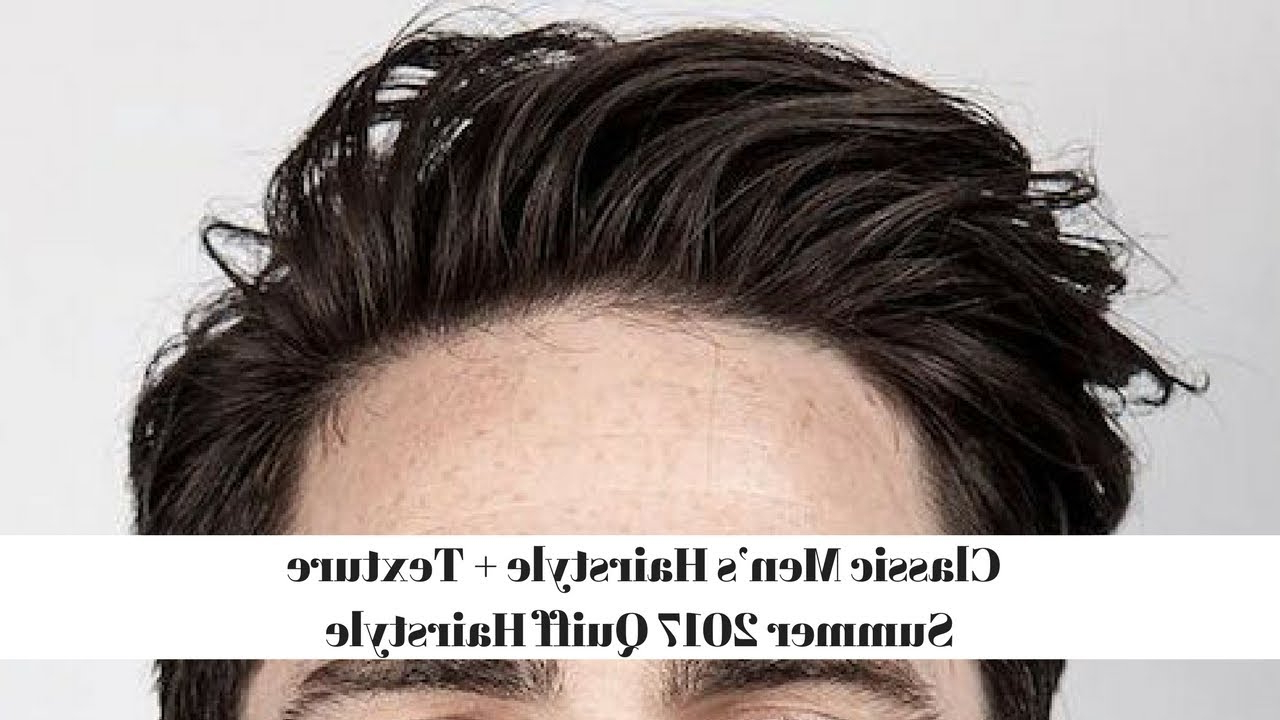 Summer 2017 Quiff Hairstyle Inside Well Known Classic Medium Hairstyles (View 16 of 20)