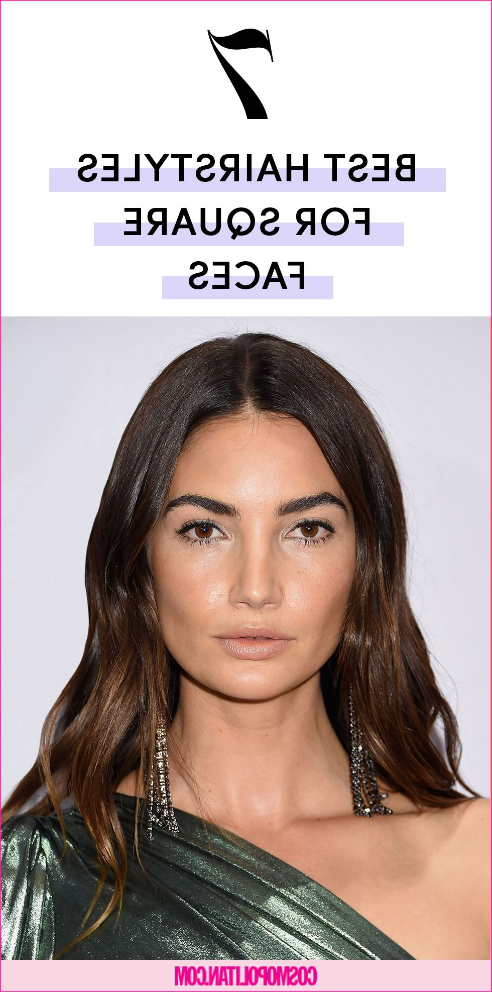 The 7 Best Hairstyles For Square Face Shapes Inside Famous Medium Hairstyles For Wide Faces (Gallery 10 of 20)