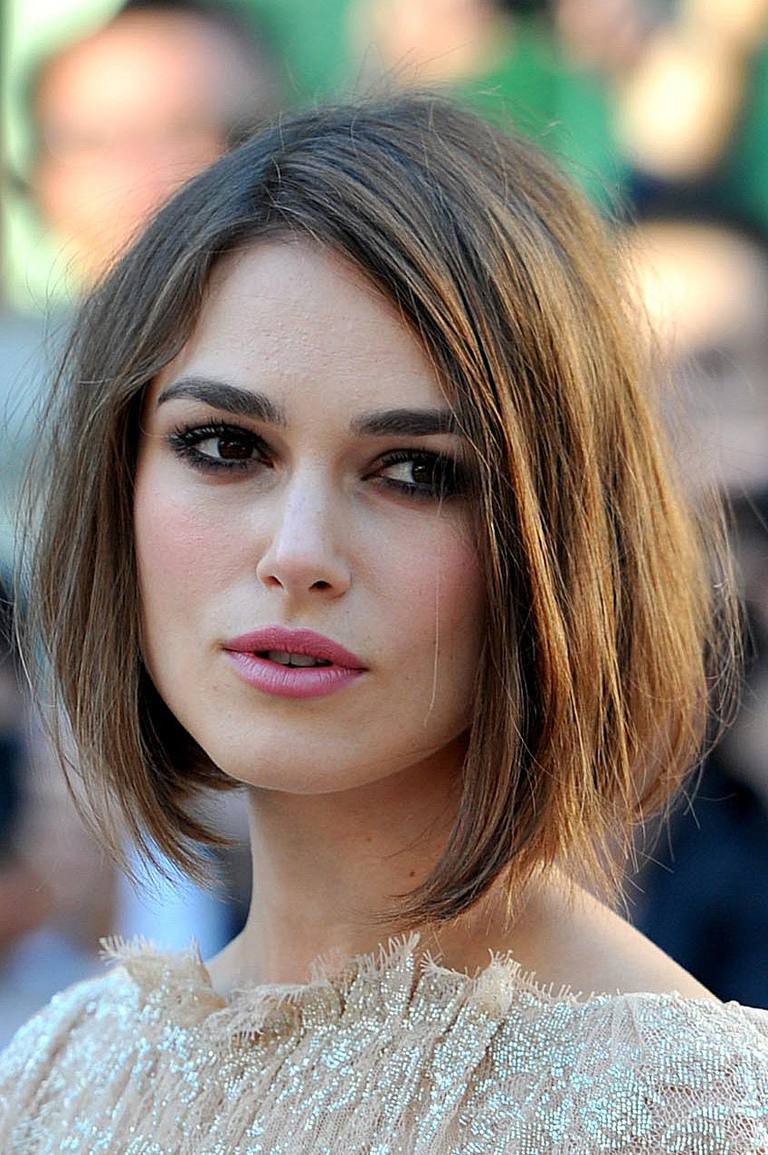 The Best, And Worst, Hairstyles For Square Shaped Faces Inside Fashionable Keira Knightley Medium Hairstyles (View 17 of 20)