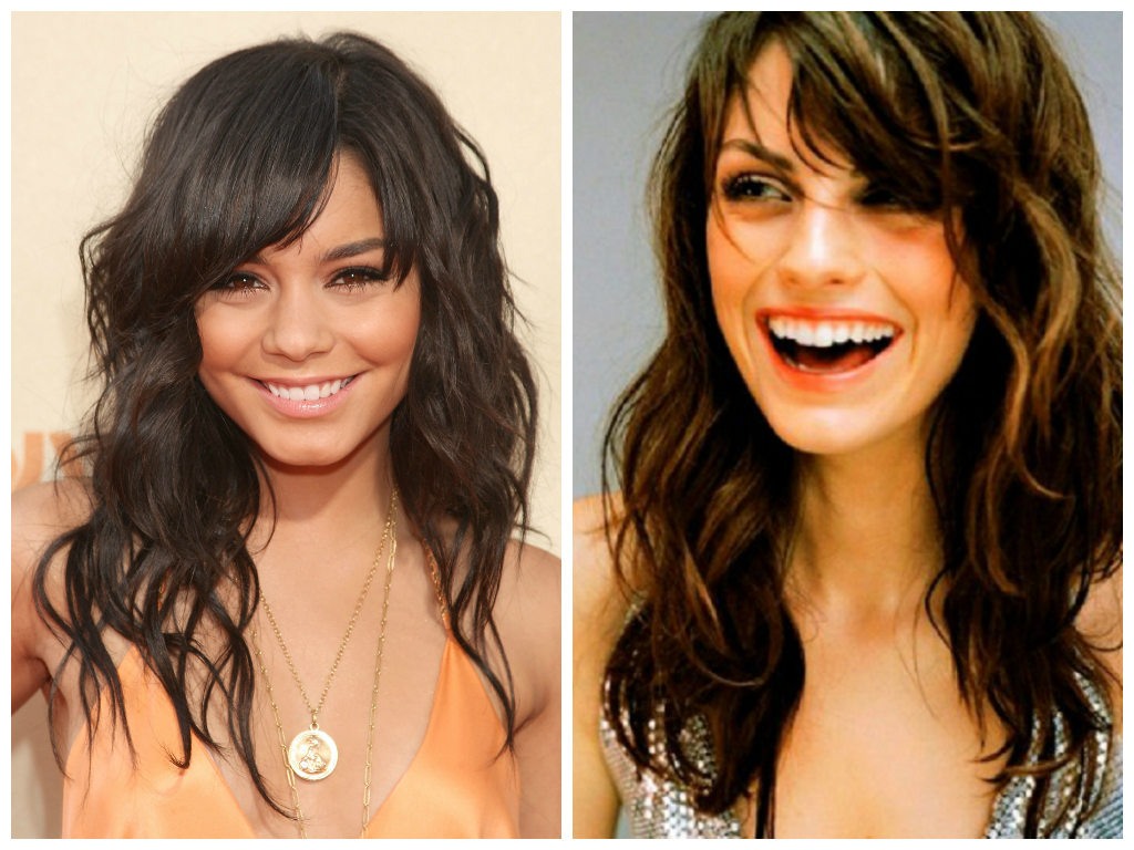 The Best Bang Hairstyles For Oval Face Shapes – Women Hairstyles With Well Liked Medium Hairstyles For Pear Shaped Faces (View 16 of 20)