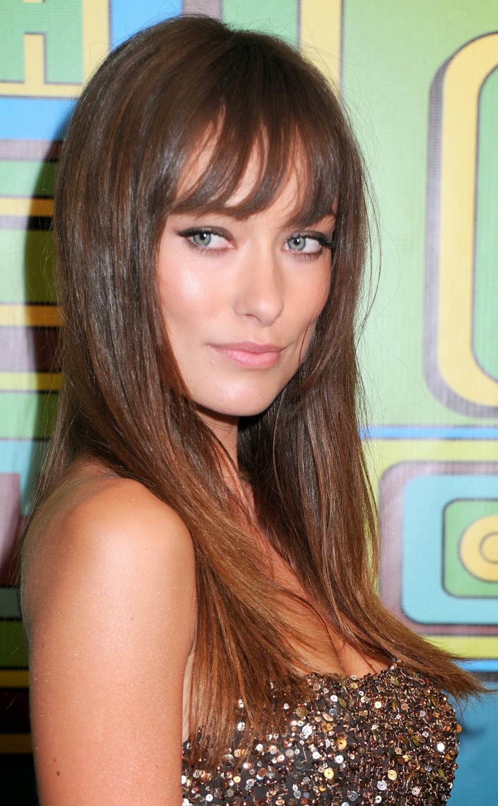 The Best Bangs For A Square Face Shape – Hair World Magazine Within Current Medium Hairstyles For Square Faces With Bangs (View 7 of 20)