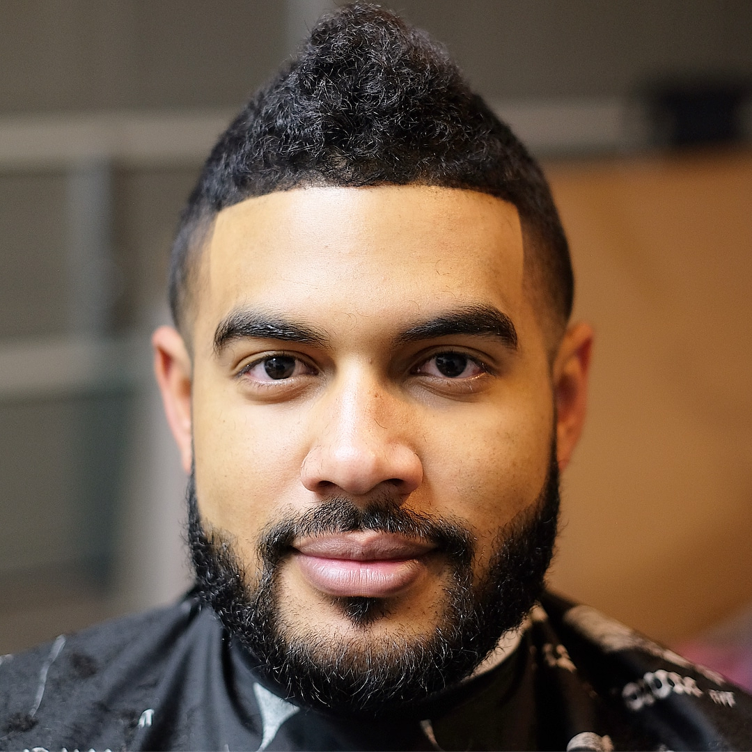 The Best Curly Hair Haircuts + Hairstyles For Men (2019 Guide) For Most Recent Curly Haired Mohawk Hairstyles (View 11 of 20)