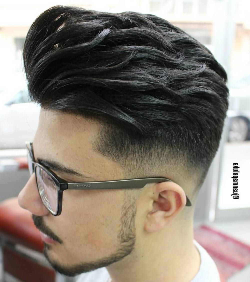 The Best Curly/wavy Hair Styles And Cuts For Men #grey #faux Hawk For Preferred Amber Waves Of Faux Hawk Hairstyles (View 3 of 20)