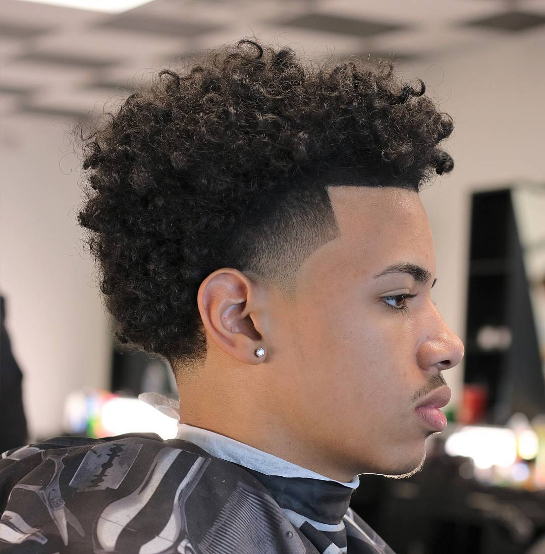 The Best Haircuts For Black Boys For Trendy Medium Haircuts For Kinky Hair (Gallery 11 of 20)