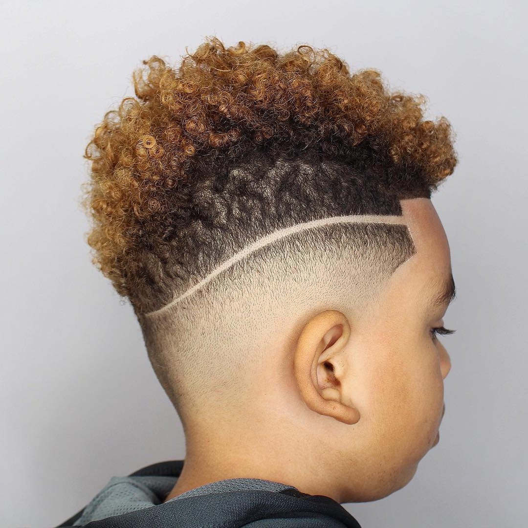 The Best Haircuts For Black Boys Intended For Latest Mohawks Hairstyles With Curls And Design (View 18 of 20)