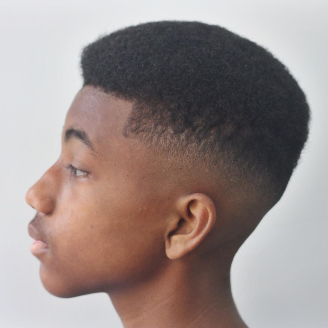 The Best Haircuts For Black Boys Throughout Fashionable Medium Haircuts For Black (View 17 of 20)