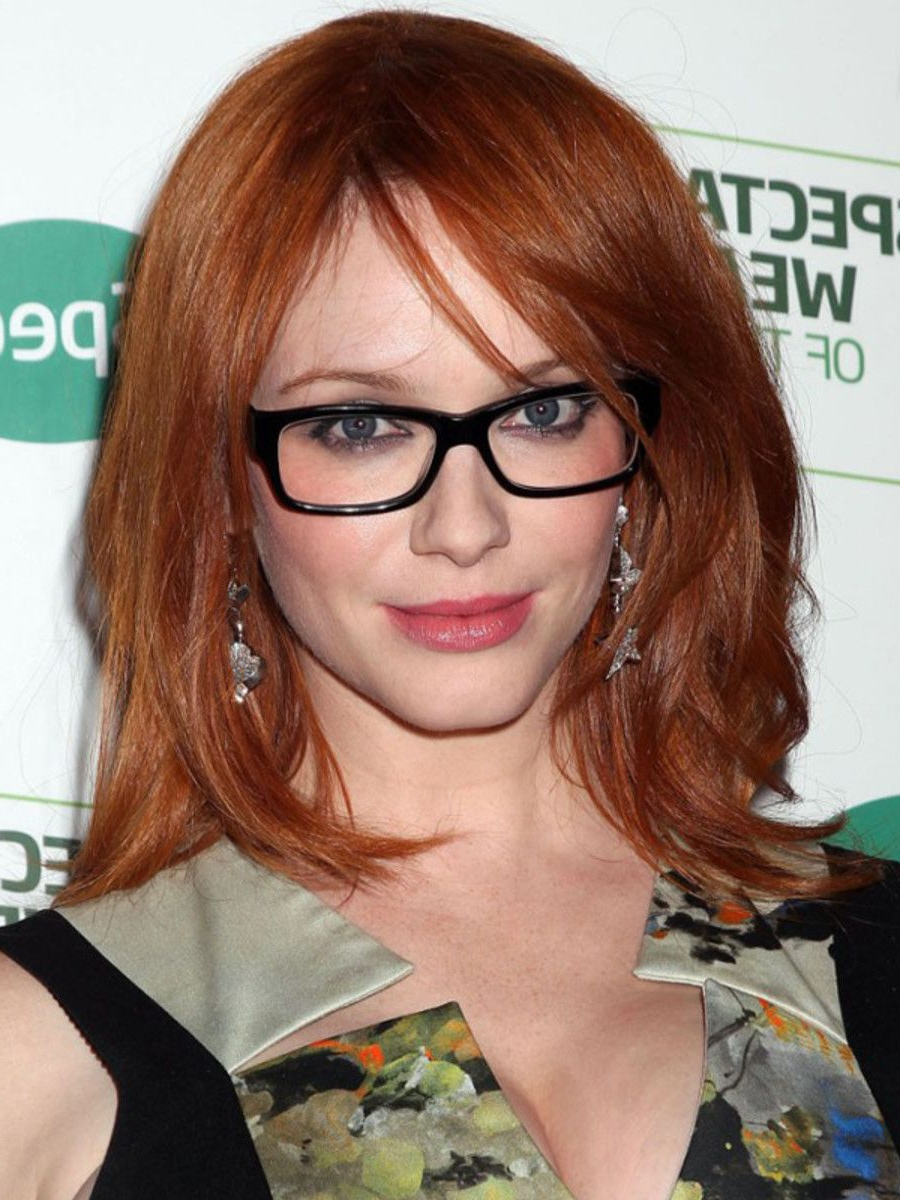 The Best Hairstyles To Wear With Glasses (View 2 of 20)