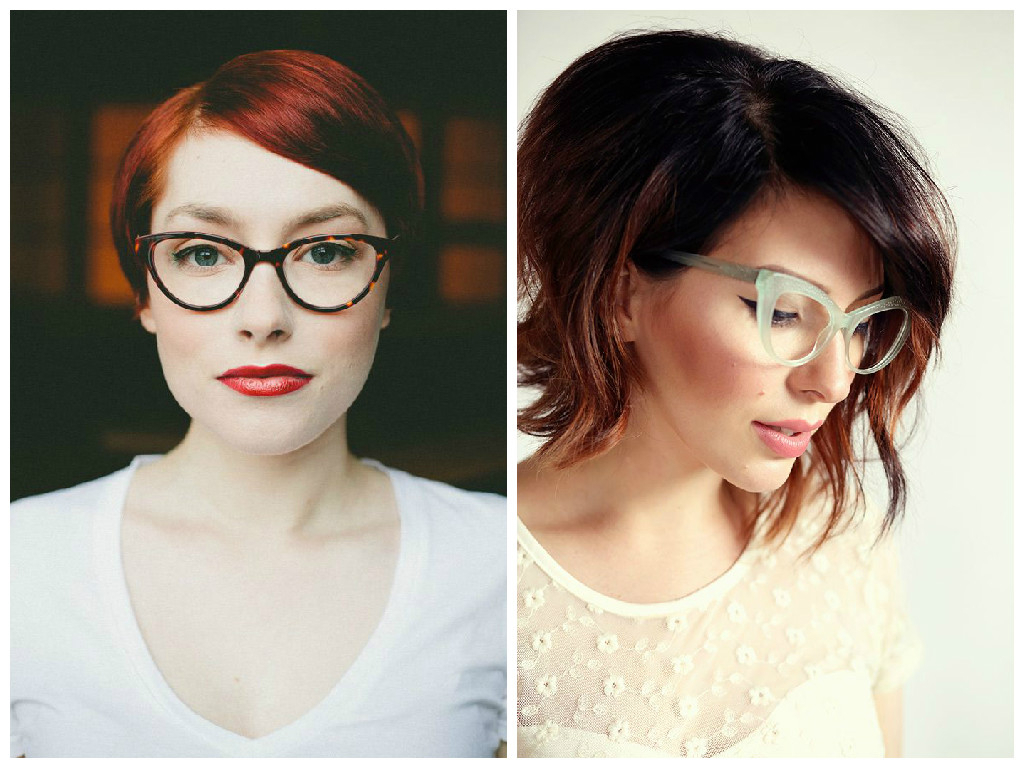 The Best Short Hairstyles To Wear With Glasses – Hair World Magazine For Newest Medium Hairstyles For Girls With Glasses (View 16 of 20)