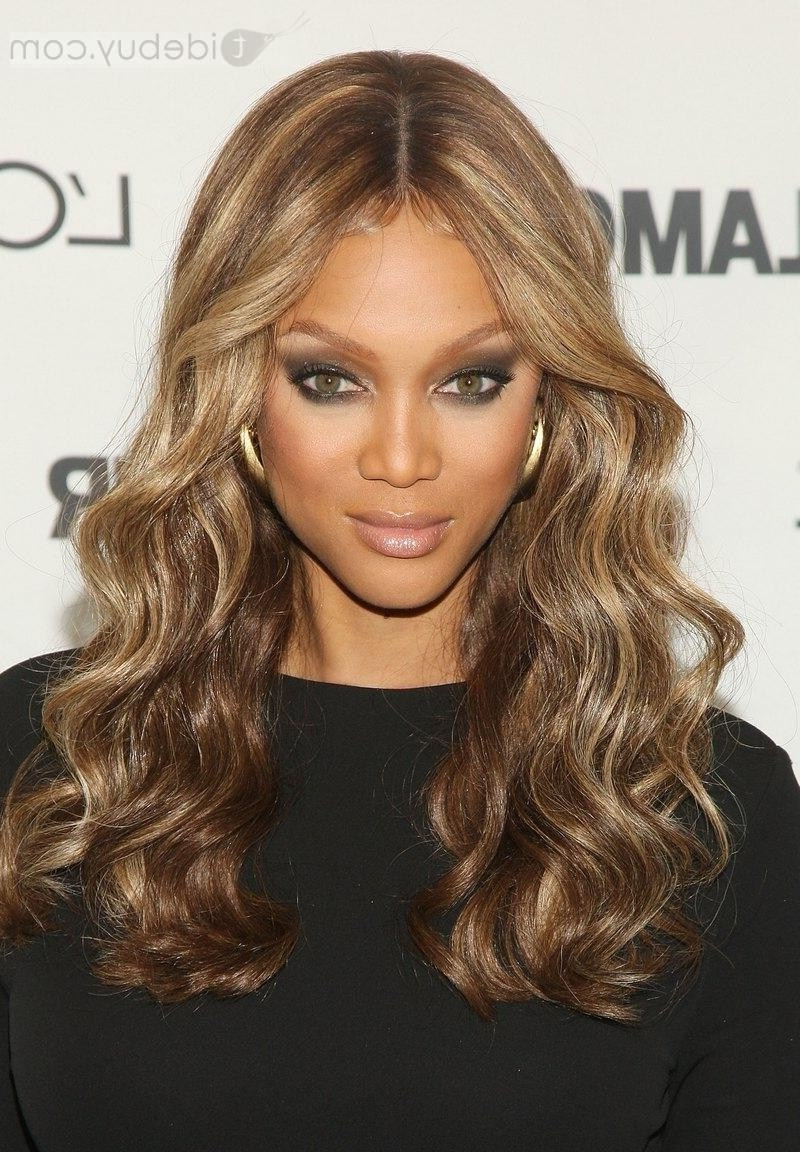 The Best Tyra Banks Hairstyles – Hair World Magazine Throughout Latest Tyra Banks Medium Hairstyles (View 14 of 20)