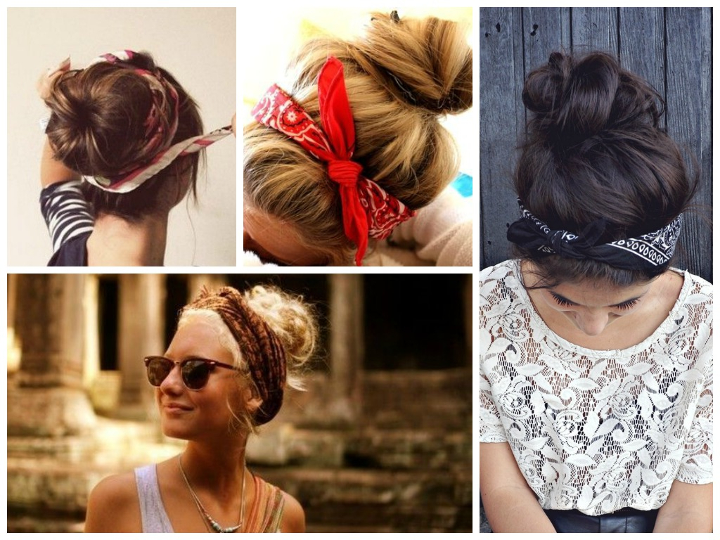 Featured Photo of Medium Hairstyles With Bandanas
