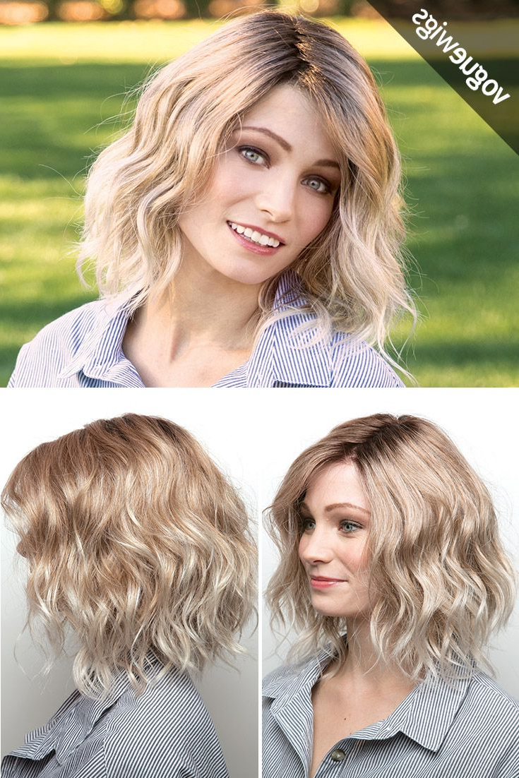 The Evanna Is Back With A Monofilament Crown To Help You Style Those In Latest Effortlessly Tousled Hairstyles (View 5 of 20)
