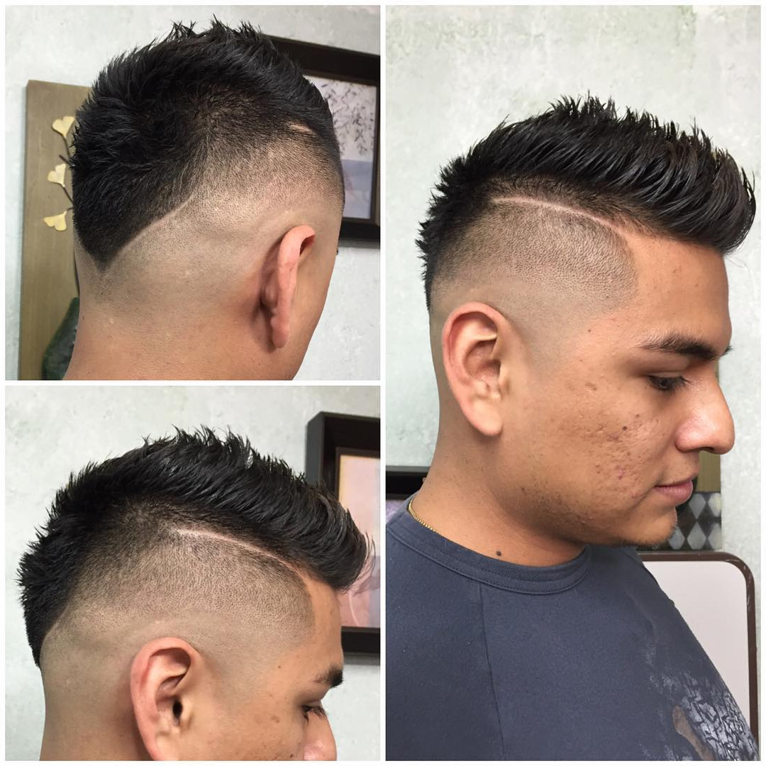 The Fauxhawk (Aka Fohawk) Haircut With Regard To Popular The Faux Hawk Mohawk Hairstyles (View 19 of 20)