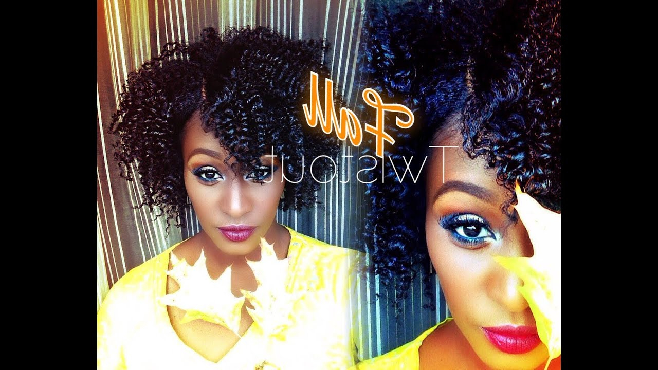 The Perfect Fall Twist Out On Short\medium Length 4B Natural Hair In Popular Medium Haircuts For Natural African American Hair (Gallery 12 of 20)