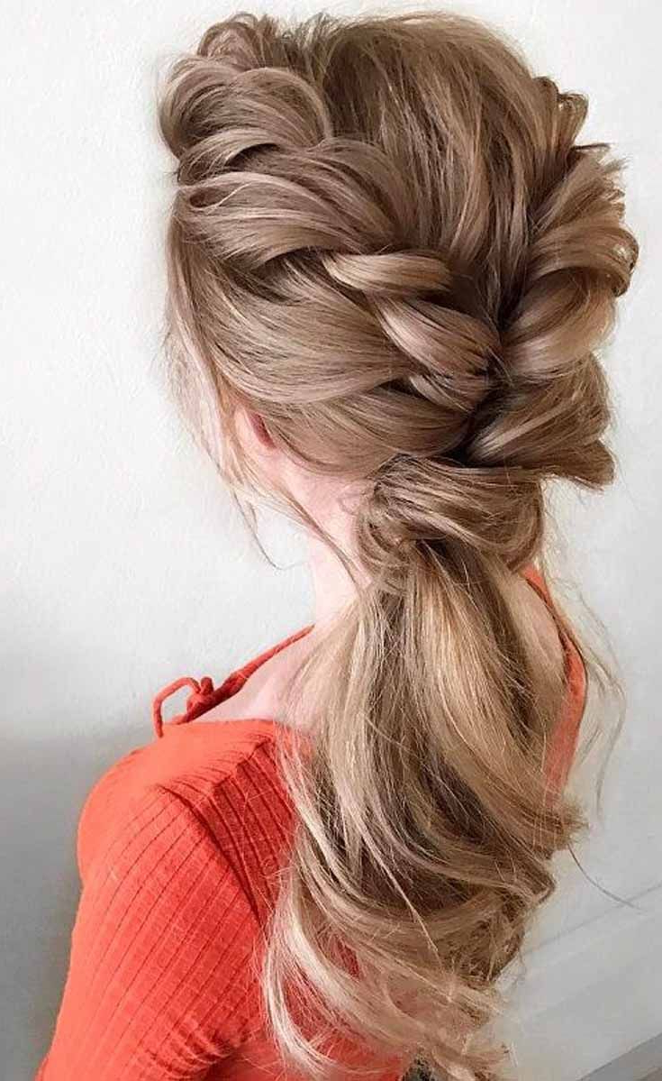 This Look Is Bold, Edgy And Trendy! A Thick Fishtail Braid Is Pulled Pertaining To Popular Messy Fishtail Faux Hawk Hairstyles (View 18 of 20)