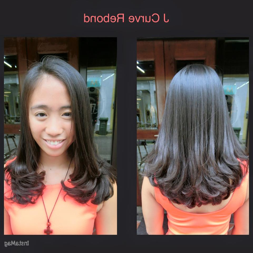 Featured Photo of Rebonded Medium Hairstyles