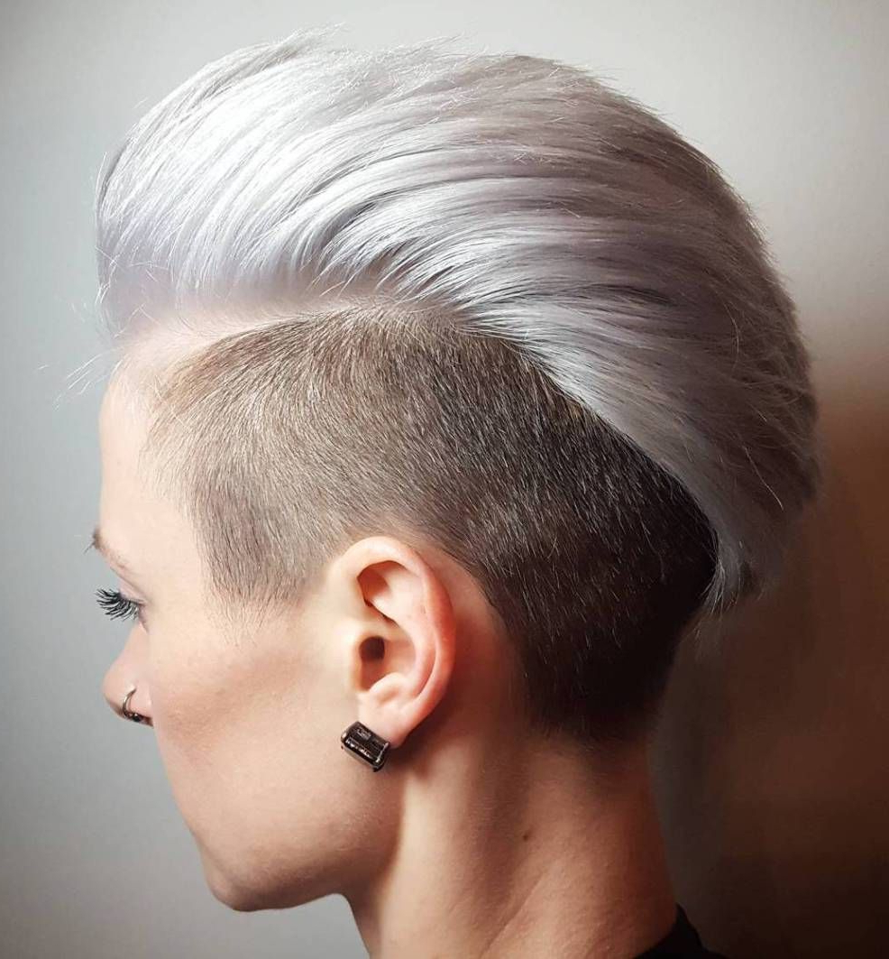 Trendy Blonde Mohawk Hairstyles With 70 Most Gorgeous Mohawk Hairstyles Of Nowadays In (View 6 of 20)