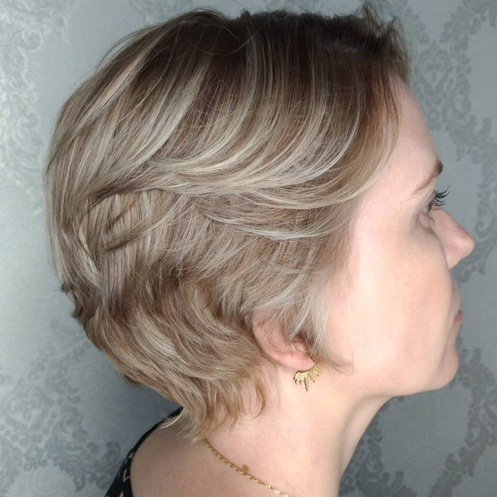 Trendy Choppy Medium Hairstyles For Older Women Throughout 47 Popular Short Choppy Hairstyles For (View 18 of 20)