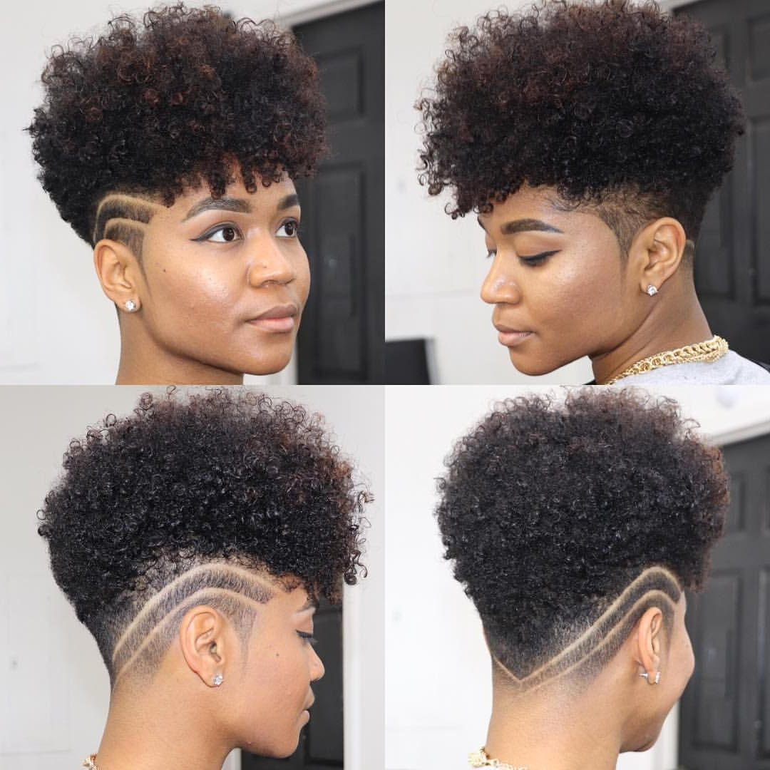 Trendy Curl–Accentuating Mohawk Hairstyles Regarding Your Tapered Natural Hair Is Truly A Beautiful Statement Piece (View 20 of 20)