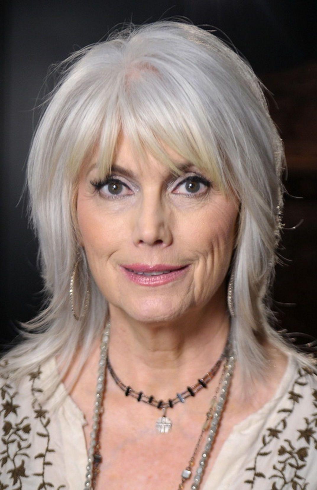 Trendy Gray Hair Bangs (Gallery 4 of 20)