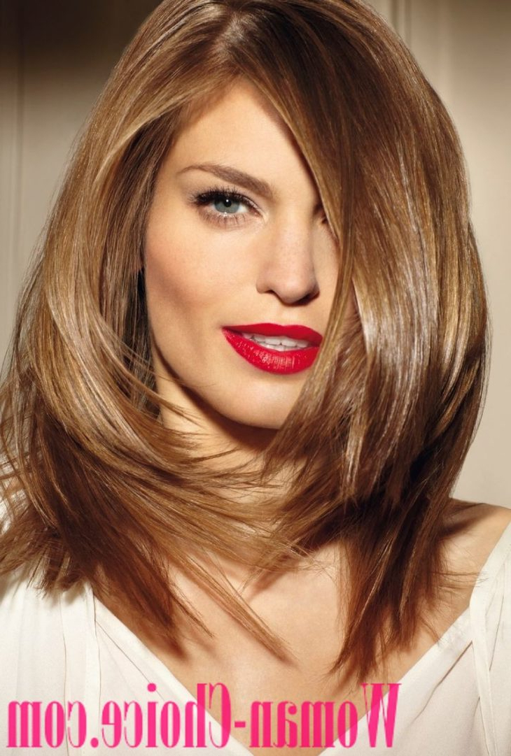 Trendy Haircuts For Hair Of Medium Length 2019 – 100 Photos Inside Favorite Medium Hairstyles For Spring (View 12 of 20)