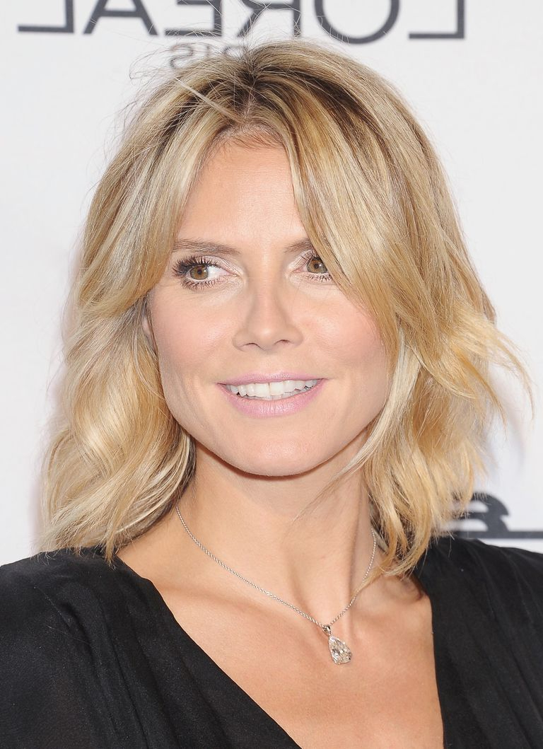 Trendy Heidi Klum Medium Haircuts In Hairstyles That Make You Look 10 Years Younger (View 4 of 20)